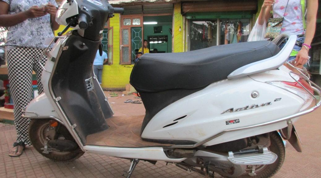 гоанский скутер